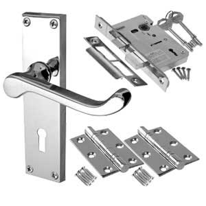 Door Handles On Backplate Door Packs