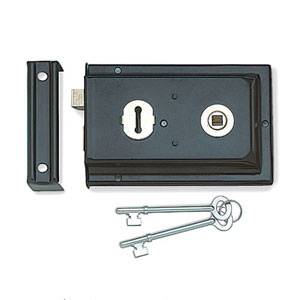 Black Antique Locks, Latches & Bolts