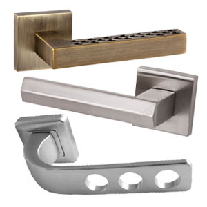 Handles On Square Rose
