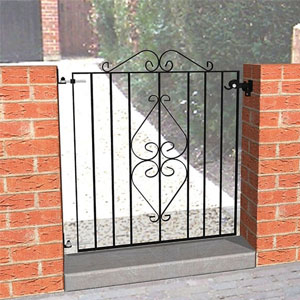 Gate and Gate Posts