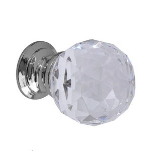 Glass and Crystal Cupboard Knobs