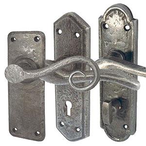 Pewter Door Handles