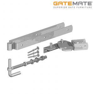 Gatemate Field Gate Self-Closing / Rising 180 Degrees Hinge Set