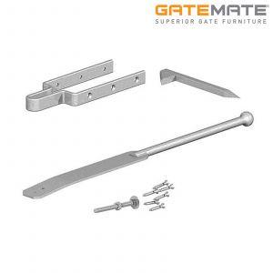 Gatemate Field Gate Spring Fastener Set With Drive Catch - Galvanised