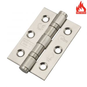 Eclipse 3 Inch Stainless Steel Ball Bearing Hinge - Satin Stainless Steel