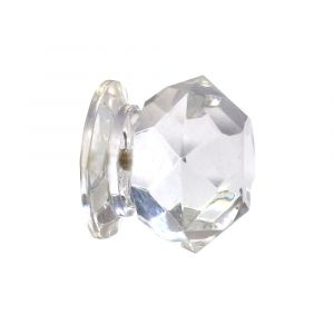 Faceted Cupboard Knob