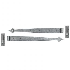 From The Anvil Hook & Band Hinge - Pewter