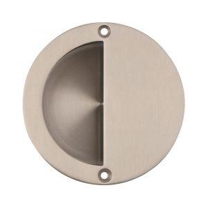 Circular Half Covered Flush Pull