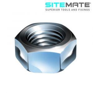 Sitemate Steel Hex Full Nuts