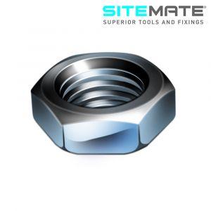 Sitemate Steel Hex Half Nuts