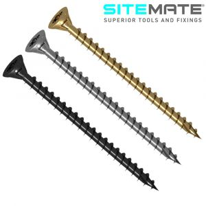 Sitemate High Performance Timber Screws - Multipled Finishes