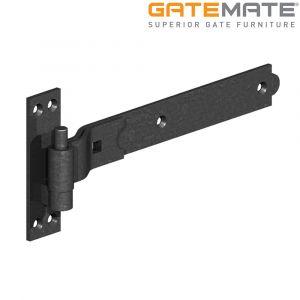 Gatemate Premium Black Cranked Hook and Band Hinges