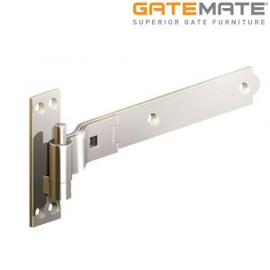 Gatemate Stainless Steel Cranked Hook and Band Hinges