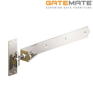 Gatemate Stainless Steel Adjustable Hook and Band Hinges