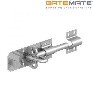 "Gatemate Stainless Steel Brenton Padbolt with 5/8"" Shoot"