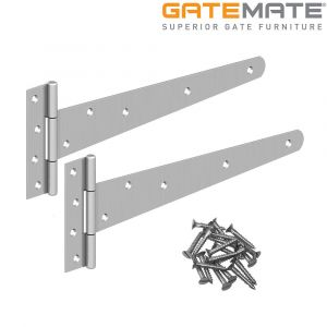 Gatemate Heavy Tee Hinges - Galvanised