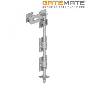 Gatemate Heavy Locking Garage Door Bolt - Galvanised