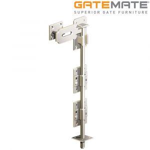 Gatemate Stainless Steel Heavy Locking Garage Door Bolt