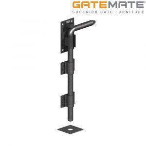 Gatemate Premium Black Garage Door Bolt