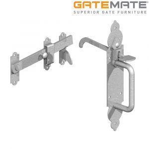 Gatemate Gothic Suffolk Latch - Galvanised