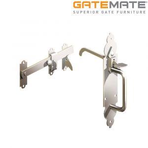 Gatemate Stainless Steel Gothic Suffolk Latch