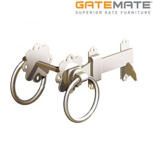 Gatemate Stainless Steel Ring Gate Latch