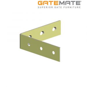Gatemate Corner Braces - Zinc Plated / Yellow Passivated