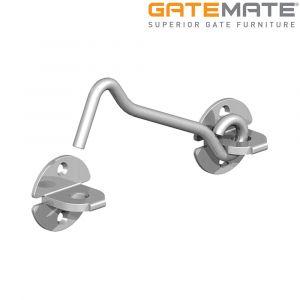 Gatemate Wire Pattern Cabin Hooks - Galvanised
