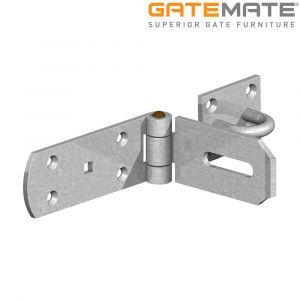 Gatemate Heavy Hasp and Staple - Galvanised