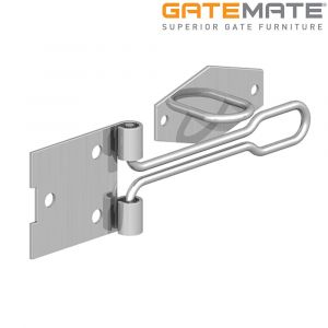 Gatemate Wire Pattern Hasp And Staple - Zinc Plated