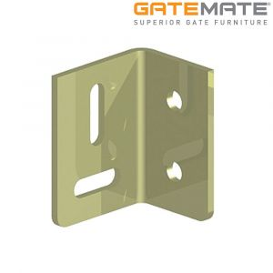 Gatemate Table Stretcher Plates - Zinc Plated / Yellow Passivated