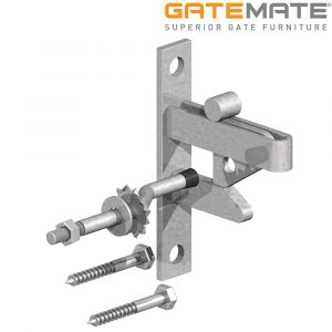 Gatemate Self Locking Gate Catch - Galvanised