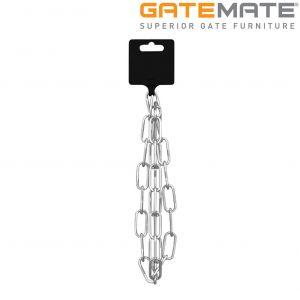 Gatemate Pre-Cut Straight Link Chain on Hanger