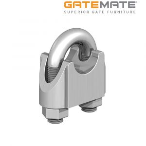 Gatemate Wire Rope Clips - Zinc Plated