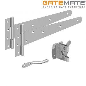 Gatemate Pedestrian Fixing Kit - Zinc Plated