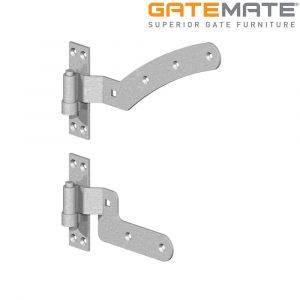 Gatemate Curved Rail Hinge Kit - Left Hand