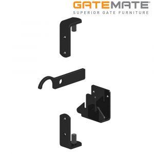 Gatemate Metal Gate Fixing Kit - Epoxy Black