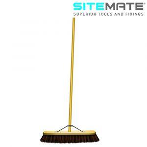Sitemate Stiff Bass Platform Broom with Handle