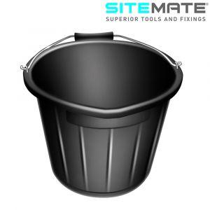 Sitemate Polythene Bucket - 3 Gallons