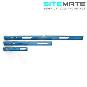 Sitemate Professional Aluminium Level with 2 Vials