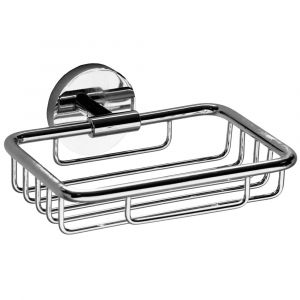 Wire Soap Dish Chrome Plated
