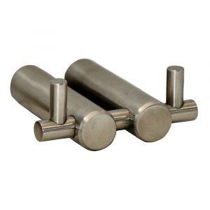 Double Robe Hook - Satin Stainless Steel