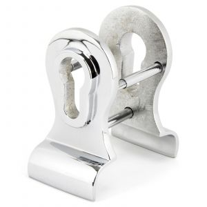 From The Anvil Period Euro Door Pull with Back-to-Back Fixings - Polished Chrome