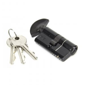 From The Anvil Euro Thumbturn Cylinders - 30mm x 30mm - Black