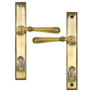 From The Anvil Newbury Slimline Sprung Lever Espagnolette Lock Door Handle