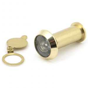 From The Anvil Door Viewer - Polished Brass