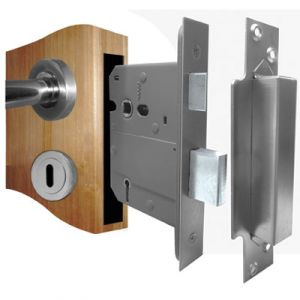 5 Lever BS3621 Sash Lock (Insurance Approved)