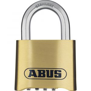 ABUS 180IB/50 Brass All Weather Combination Padlock - 50mm