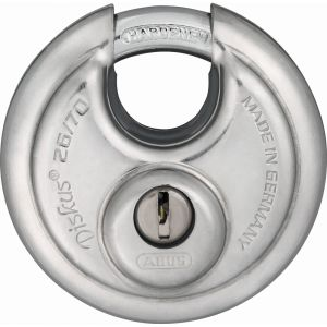 ABUS 26/70 Standard Discus PadLock Keyed to Differ - 70mm