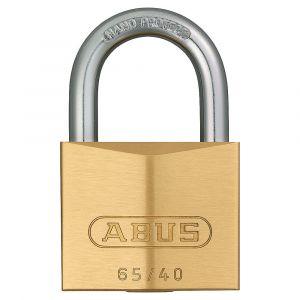 ABUS 65 Brass Padlock Keyed to Differ